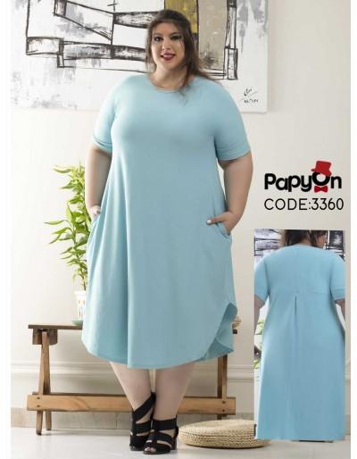 پیراهن پاپیون - 3360