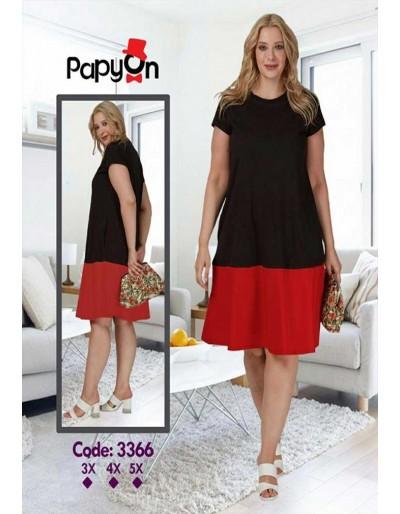 پیراهن پیراهن پاپیون - 3366